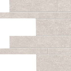 Metal.It Listelli Sfalsati Platinum | Mosaïques | EMILGROUP