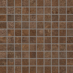 Metal Style Mosaico Corten | Mosaïques | EMILGROUP