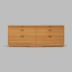 lineground 6-drawer horizontal bureau | Sideboards / Kommoden | Skram