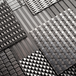 Linq Woven Metal | Metall Bleche | Forms+Surfaces®