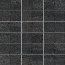 Stone Project Falda Mosaico Black | Ceramic mosaics | EMILGROUP