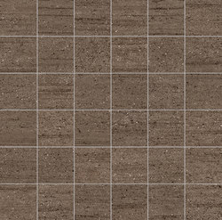 Stone Project Falda Mosaico Brown | Ceramic mosaics | EMILGROUP