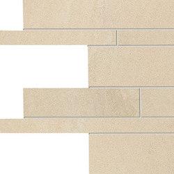 Stone Project Controfalda Mosaico Listelli Sfalsati Gold | Mosaics | EMILGROUP