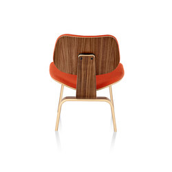 Eames Molded Plywood Lounge Chair Wood Base | Loungesessel | Herman Miller