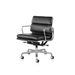 Eames Aluminum Group Soft Pad Management Chair | Chairs | Herman Miller