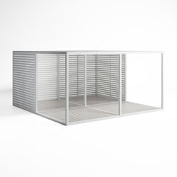 Cerramientos Fixed Blades Enclosure | Gazebos | GANDIABLASCO