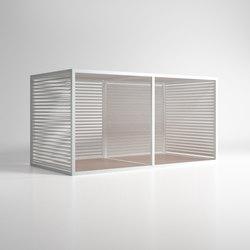 Cerramientos | Cerramiento Serramento Alluminio Mobile | Gazebo da giardino | GANDIABLASCO