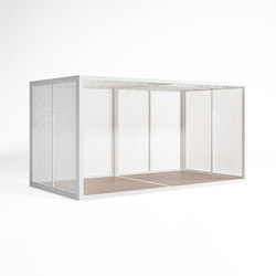 Cerramientos Perforated Sheet Enclosure | Gazebos | GANDIABLASCO