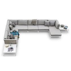 Algarve modular sofa | Garden sofas | Varaschin