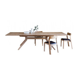 Cross extending table | Konferenztische | Case Furniture