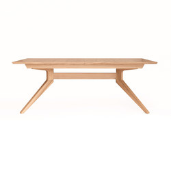 Cross Extending Table | Tables de repas | Case Furniture