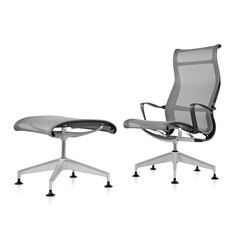 Setu Lounge Chair and Ottoman | Loungesessel | Herman Miller
