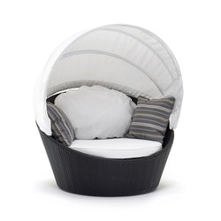 Mini-Arena swivel round sofa | Gartensessel | Varaschin