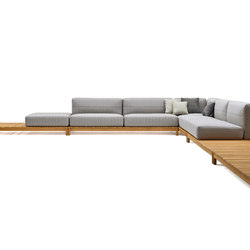 Barcode modular sofa | Garden sofas | Varaschin