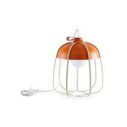 Tull - Desk/floor orange/beige | Table lights | Incipit Lab srl