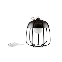 Tull - Desk/floor black nickel/black | Table lights | Incipit Lab srl