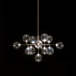 Cluster Crown pendant 3 | Suspended lights | HARCO LOOR