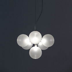 Cluster pendant 6 | General lighting | HARCO LOOR
