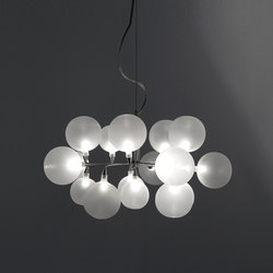 Cluster pendant 16 | General lighting | HARCO LOOR