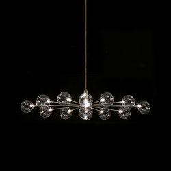 Cluster – Oval pendant 13 | Suspended lights | HARCO LOOR