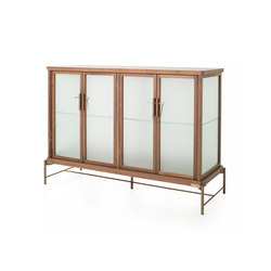 Dowry Cabinet I Frosted Glass | Display cabinets | Stellar Works