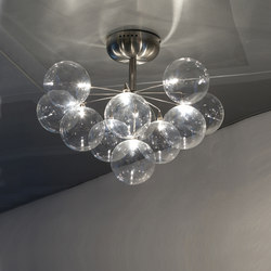 Cluster ceiling-/wall lamp 11 | Wall lights | HARCO LOOR