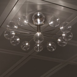 Cluster Wheel ceiling-/wall lamp 13 | Wall lights | HARCO LOOR