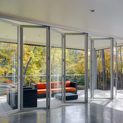 Folding Doors - Aluminum | Zinc House | Puertas patio | LaCantina Doors