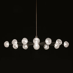 Meteor – Oval pendant 13 | General lighting | HARCO LOOR