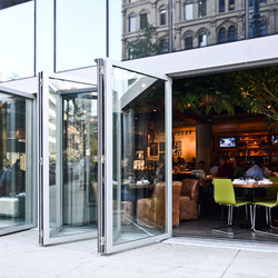Folding Doors - Aluminum Thermally Controlled | Aloft | Puertas patio | LaCantina Doors