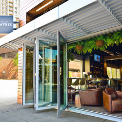 Folding Doors - Aluminum Thermally Controlled | Beatrix | Portefinestre | LaCantina Doors