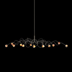 Murrini – Oval pendant 12 | Suspended lights | HARCO LOOR