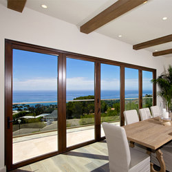 Folding Doors - Contemporary Clad | Chamnez | Baies vitrées | LaCantina Doors