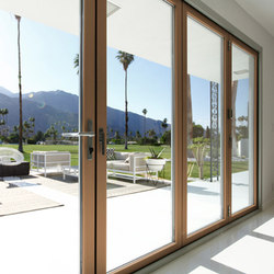 Folding Doors - Contemporary Clad | Christopher Kennedy Compound | Portefinestre | LaCantina Doors
