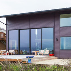 Multi-Slide Doors - Aluminum | Island Beach House | Glastüren | LaCantina Doors