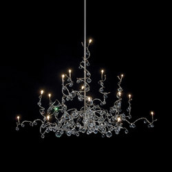 Tiara Diamond Chandelier suspension 15 | Éclairage général | HARCO LOOR