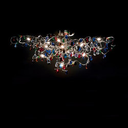 Tiara ceiling light 15-multicolor | General lighting | HARCO LOOR