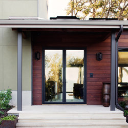 Swing Doors - Aluminum | Vaughan Residence | Glass room doors | LaCantina Doors