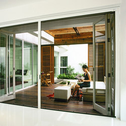 Screening & Blind Solutions - Pleated | Pim House | Patio doors | LaCantina Doors
