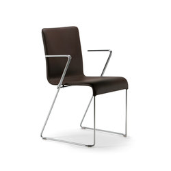 Eva armchair | Visitors chairs / Side chairs | Varaschin
