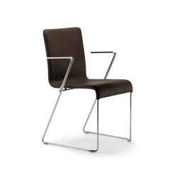 Eva armchair | Besucherstühle | Varaschin