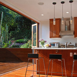 Combination Window & Door Systems | Noe Valley | French doors | LaCantina Doors