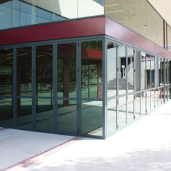 Zero Post Corners | Kalban Architects, Viewpoint School | Porte patio | LaCantina Doors