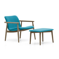 Lapis lounge | Lounge chairs with footstools | Varaschin