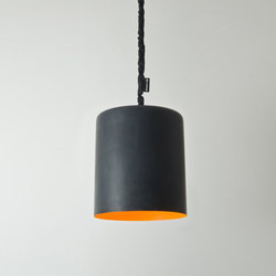 Bin lavagna orange | Suspended lights | IN-ES.ARTDESIGN
