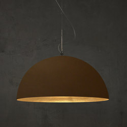 Mezza Luna bronze/or | Suspensions | IN-ES.ARTDESIGN
