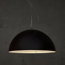 Mezza Luna noir/blanc | Suspensions | IN-ES.ARTDESIGN