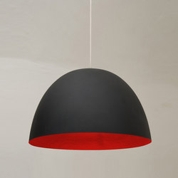 H2O noir/rouge | Suspensions | IN-ES.ARTDESIGN