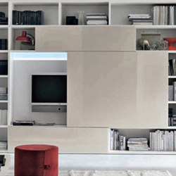 Sliding Entertainment Unit | Wall storage systems | Cliff Young