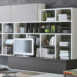 Top to Bottom Entertainment Unit | Wall storage systems | Cliff Young